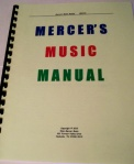 Mercer's Music Manual
